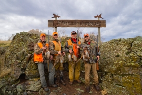 Best pheasant hunting in the world? Not the Dakotas, but eastern Washington. Photo by Joel Shangle.