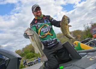 Quaker State pro Matt Arey has three Cup Top 10s as a co-angler and three Top 20s as a pro. He obviously knows how to compete here, and you'd be a fool not to put him on your must-watch list. Photo by Joel Shangle.