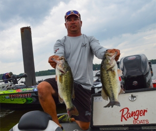Confession: Troy Morrow is our darkhorse favorite this week. Not necessarily because we think Wheeler sets up well for him, but because he squeaked into this event ... and that's all he needed. Morrow shows out at the Cup, with three Top 10s in the four he's fished. Photo by Joel Shangle.