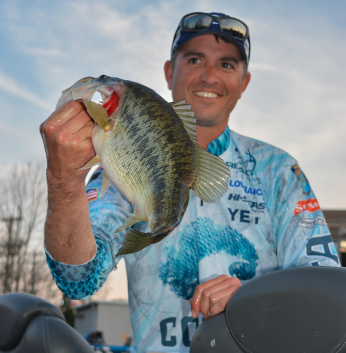 I think we can all stop feeling sorry for Casey Ashley when he complains (good-naturedly) about his dislike of smallmouth. Ashley is fresh off a second-place finish on Lake Oahe, and he finished in the Top 10 the last time the Elites fished the St. Lawrence River in 2017. That said, watch out for Ashley if he heads into the AOY Championship on Lake Chatuge within 15 points of the lead, he'll be right at home in that Blue Ridge Mountains fishery. Photo by Joel Shangle.